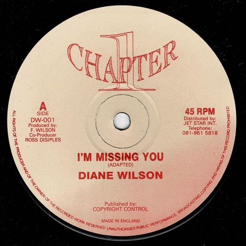 DIANE WILSON-i'm missing you