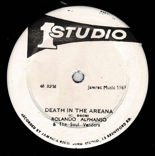 ROLAND ALPHONSO-death in the arena