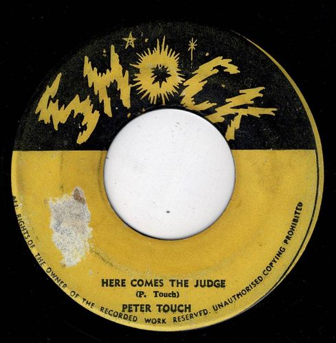 PETER TOSH-here comes the judge