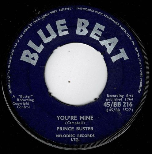 PRINCE BUSTER-you're mine