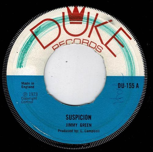 JIMMY GREEN-suspicion