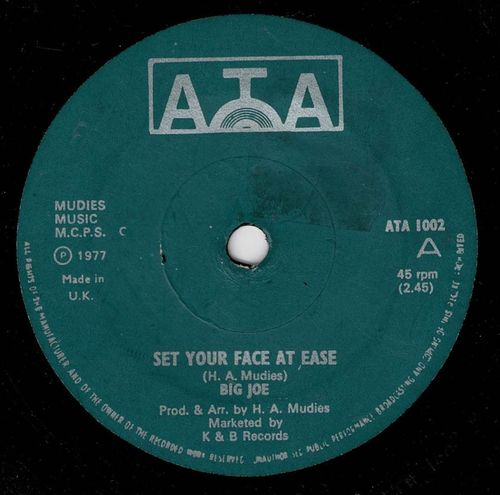 BIG JOE-set your face at ease