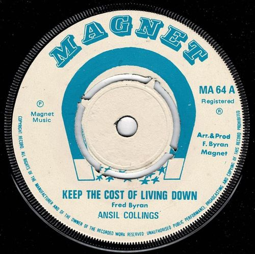 ANSEL COLLINS-keep the cost of living down