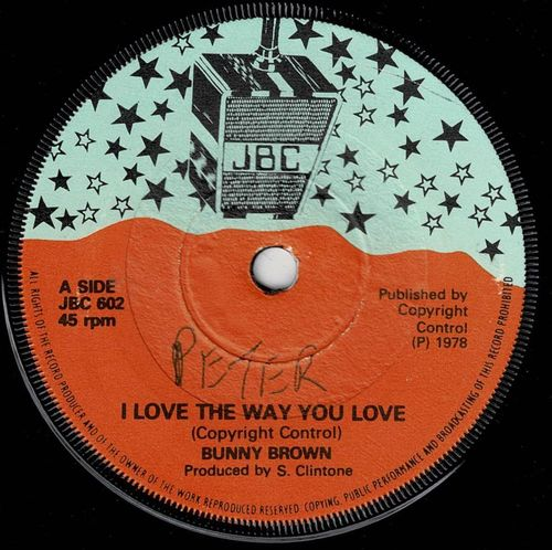 BUNNY BROWN-i love the way you love