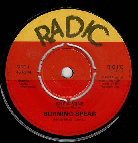 BURNING SPEAR-she's mine