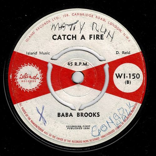 BABA BROOKS-catch a fire