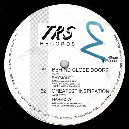 RAYMONDO-behind close doors