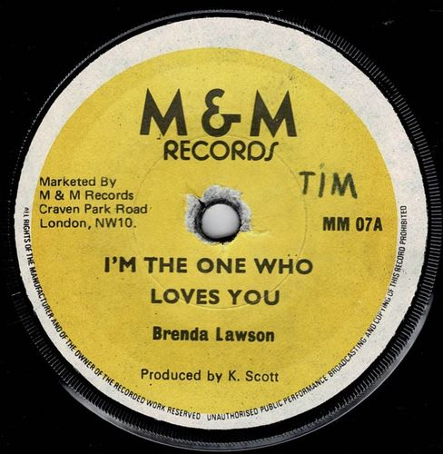 BRENDA LAWSON-i'm the one who loves you