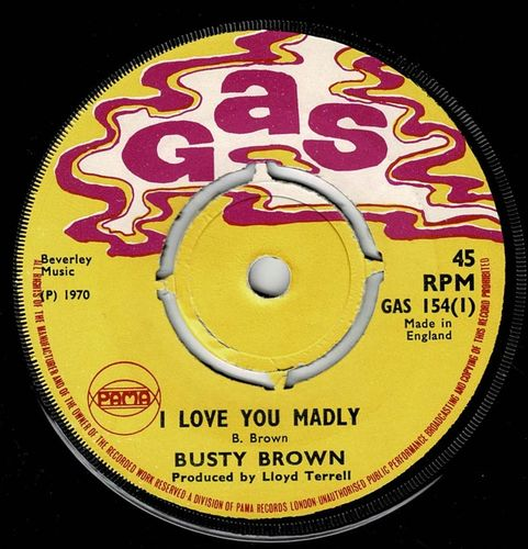 BUSTY BROWN-i love you madly