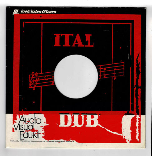 DUB SPECIALIST-ital dub  (silk screen cover)