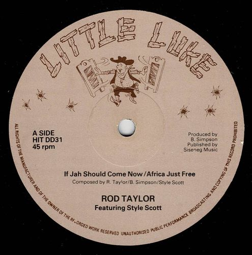 ROD TAYLOR-if jah should come now