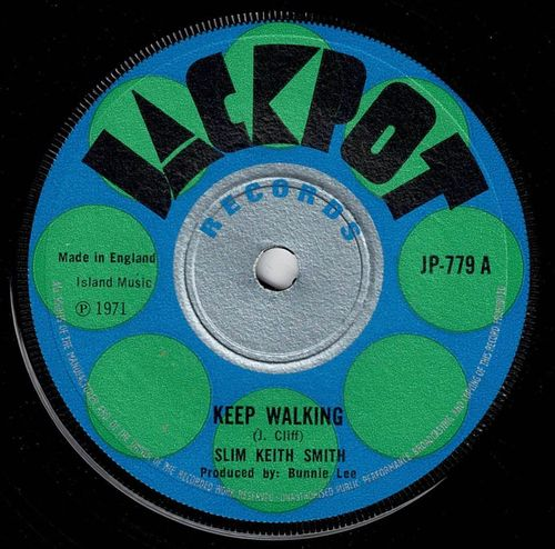 SLIM SMITH-keep walking