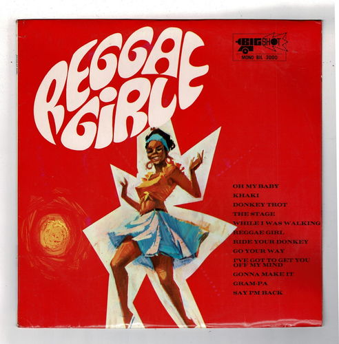 VARIOUS-reggae girl