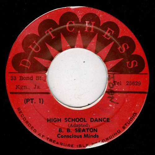 B B SEATON-high school dance