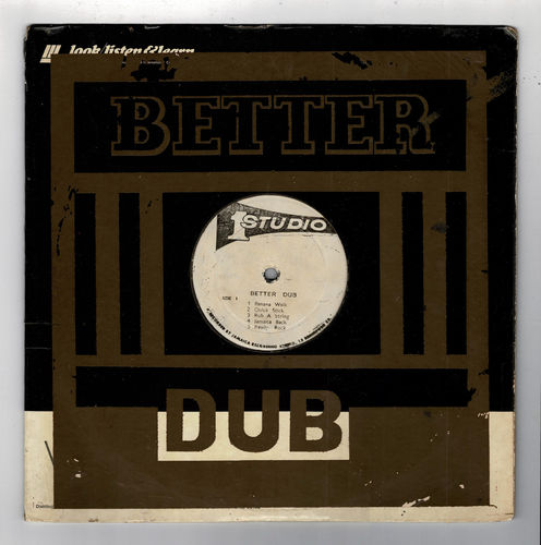 DUB SPECIALIST-better dub  (silk screen cover)