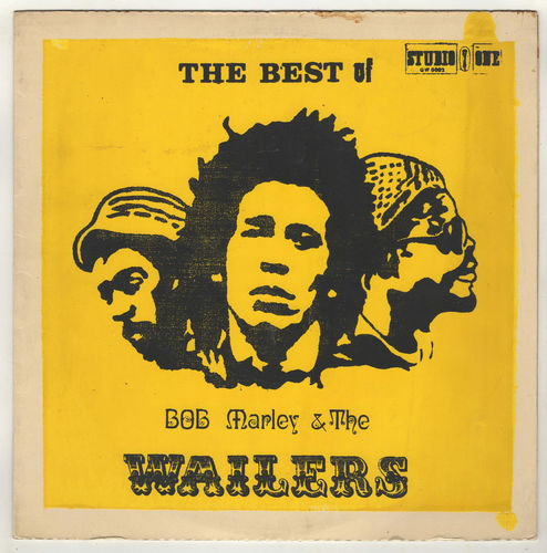 BOB MARLEY-the best of BOB MARLEY & the WAILERS  (silk screen cover)