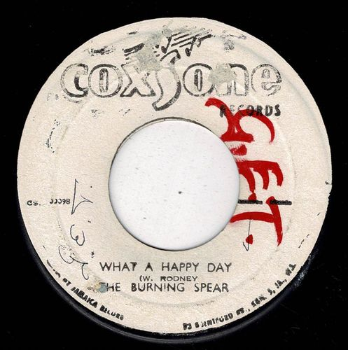 BURNING SPEAR-what a happy day