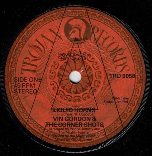 VIN GORDON-liquid horns