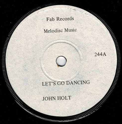JOHN HOLT-lets go dancing