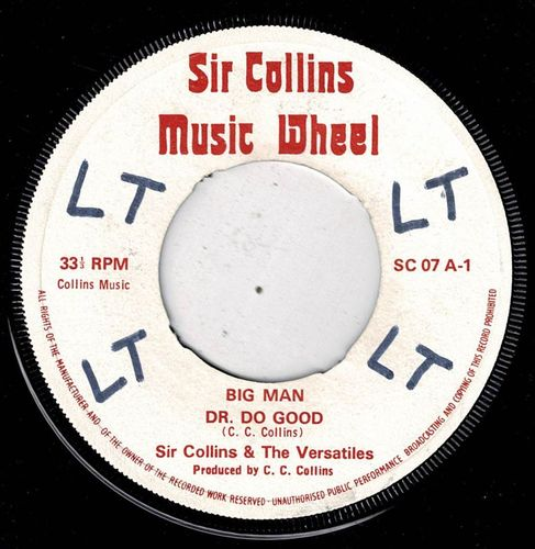 SIR COLLINS & VERSATILES-big man