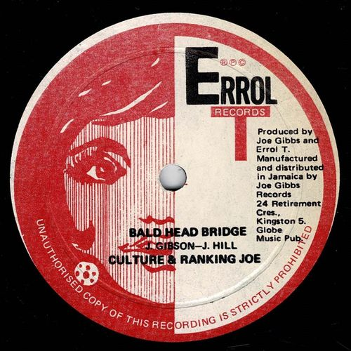 CULTURE & RANKING JOE-baldhead bridge