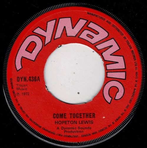 HOPETON LEWIS-come together