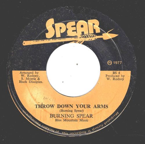 BURNING SPEAR-throw down your arms
