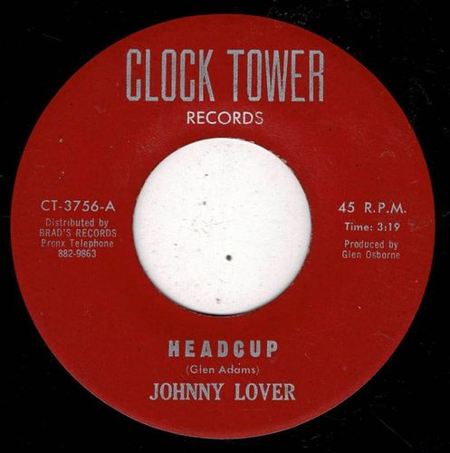 JOHNNY LOVER-headcup