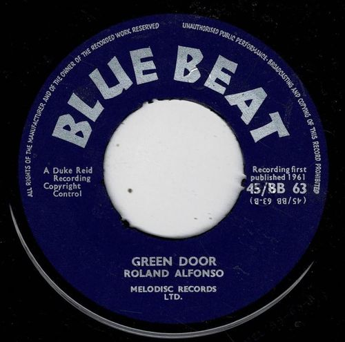 ROLAND ALPHONSO-green door