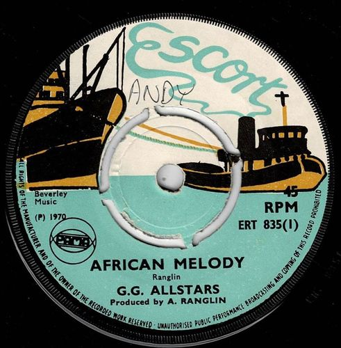 GG ALL STARS-african melody