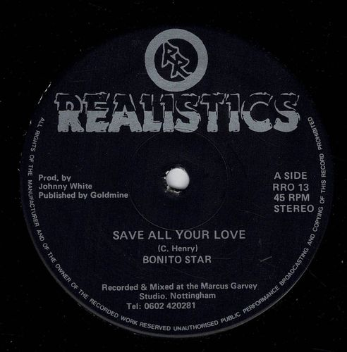 BONITO STAR-save all your love