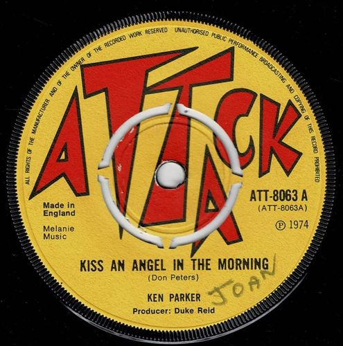 KEN PARKER-kiss an angel in the morning