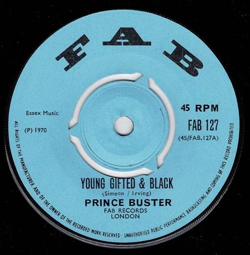 PRINCE BUSTER-young gifted & black