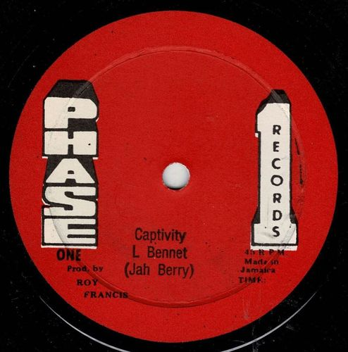 JAH BERRY-captivity