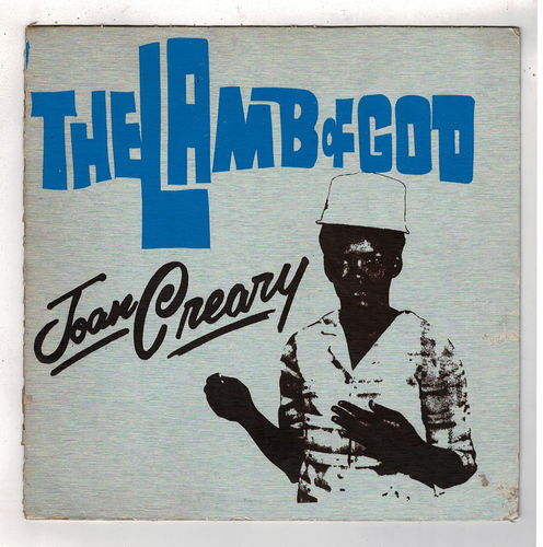 JOAN CREARY-the lamb of god (silk screen cover)