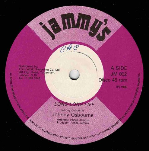 JOHNNY OSBOURNE-long long life