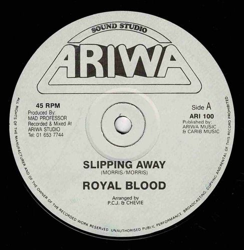 ROYAL BLOOD-slipping away