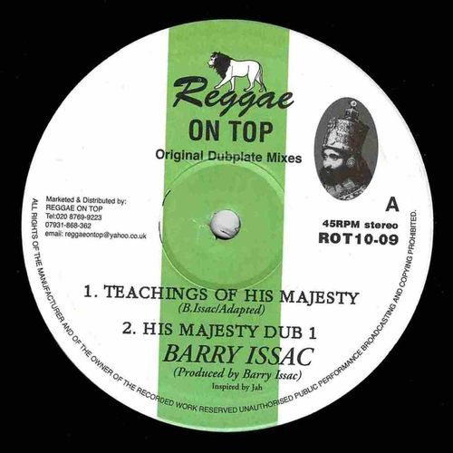 BARRY ISSAC-teachings of his majesty
