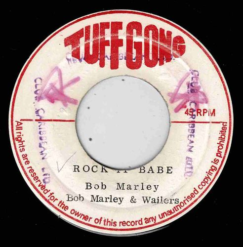 BOB MARLEY & WAILERS-rock it babe