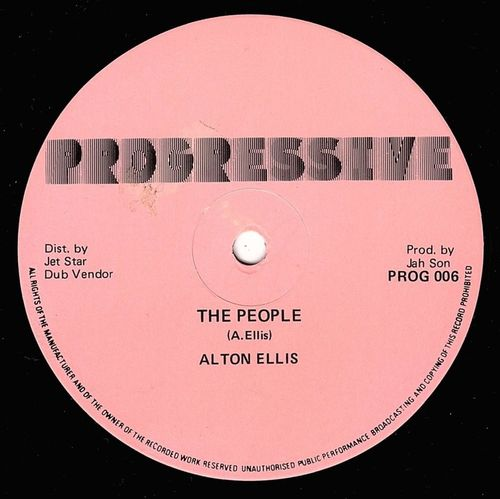 ALTON ELLIS-the people