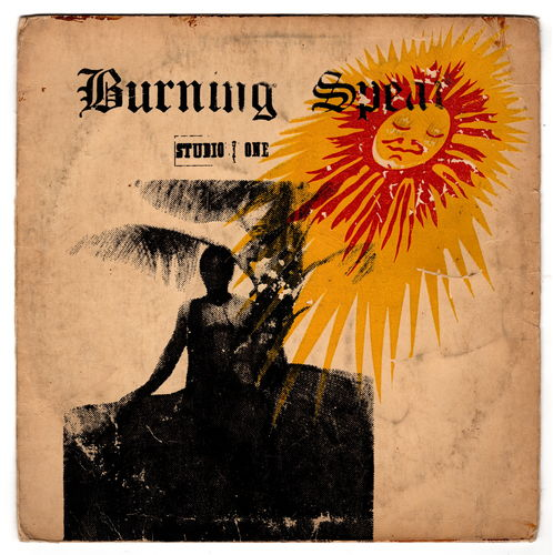 BURNING SPEAR-burning spear  (silk screen cover)