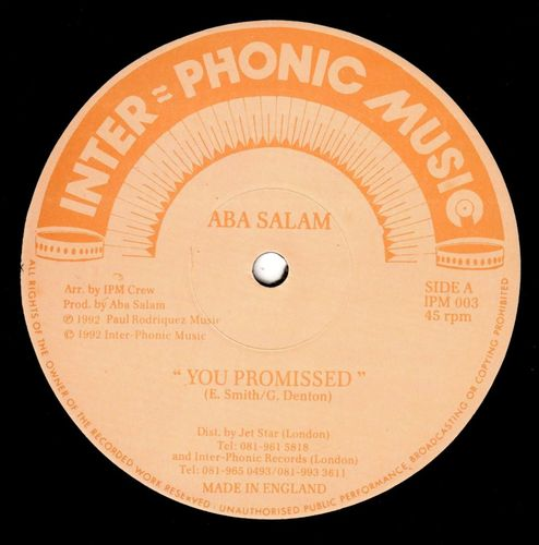 ABA SALAM -you promised