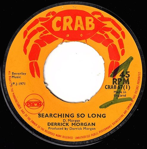 DERRICK MORGAN-searching so long