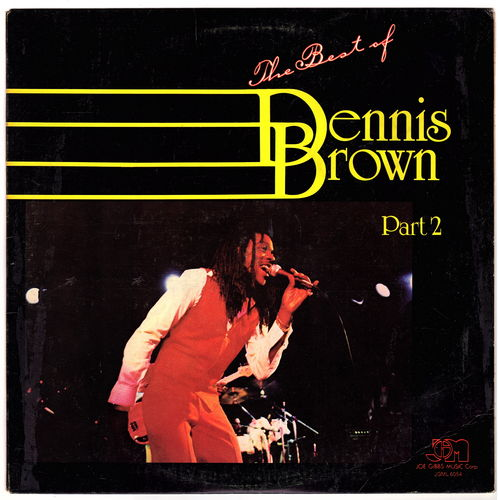 DENNIS BROWN-the best of dennis brown part 2