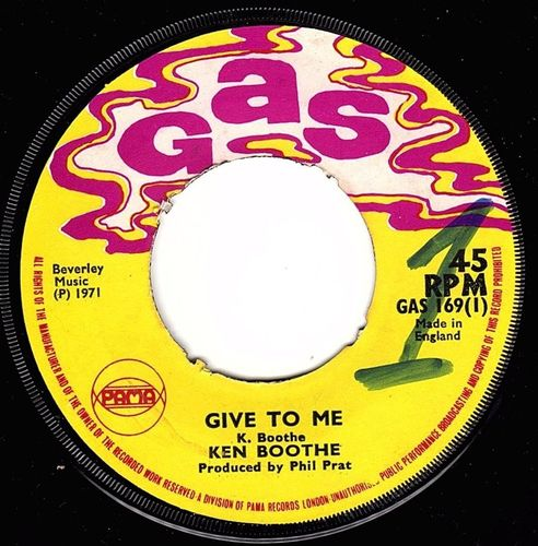 KEN BOOTHE-give to me
