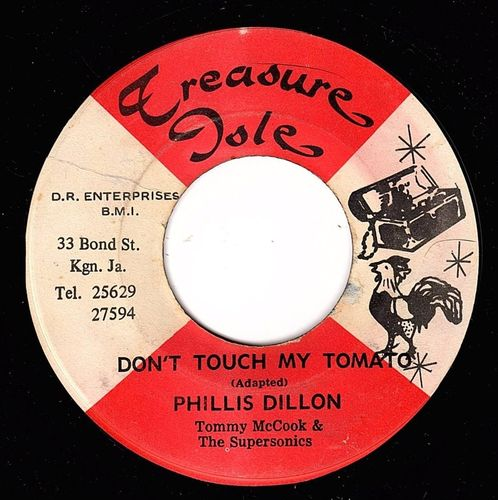 PHYLLIS DILLON-don't touch my tomato