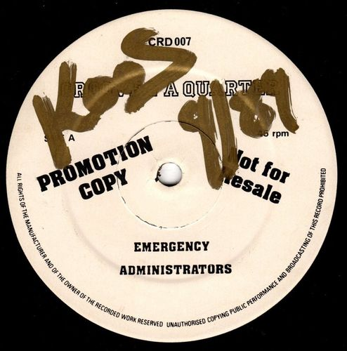ADMINISTRATORS-emergency