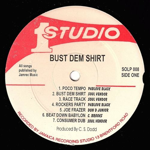 VARIOUS-bus dem shirt