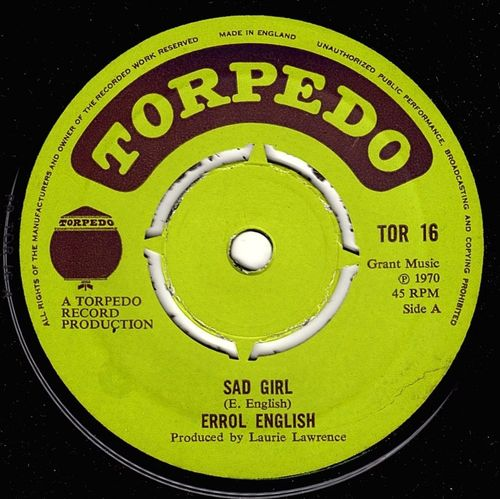 ERROL ENGLISH-sad girl