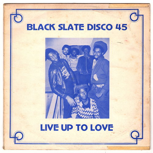 BLACK SLATE-live up to love